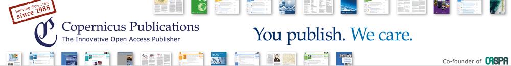 Copernicus Publications - Publications